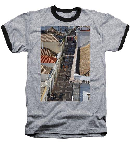 Rua Do Crime In Faro Baseball T-Shirt by Angelo DeVal
