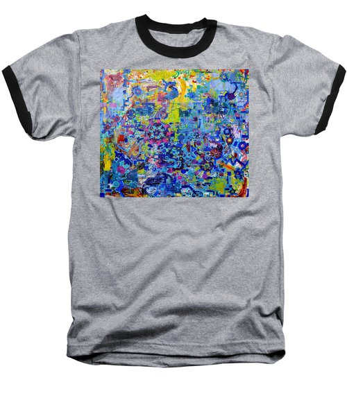 Rube Goldberg Abstract Baseball T-Shirt
