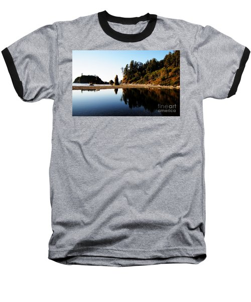 Ruby Beach Reflections Baseball T-Shirt