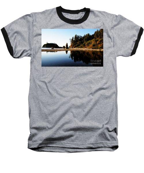 Ruby Beach Reflections Baseball T-Shirt
