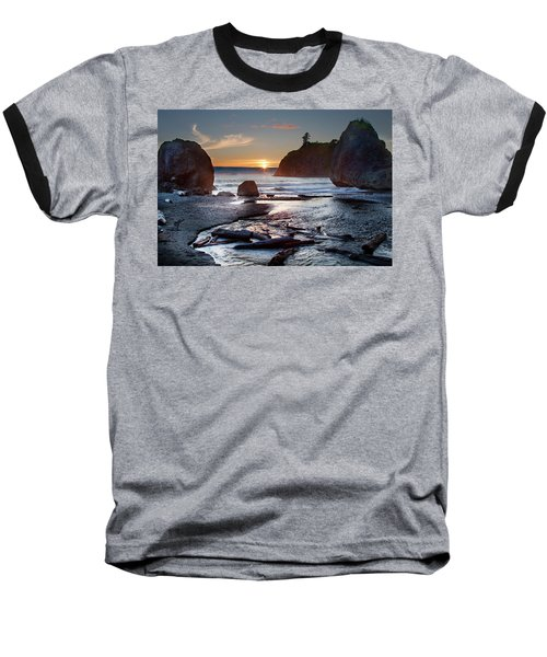 Ruby Beach #1 Baseball T-Shirt