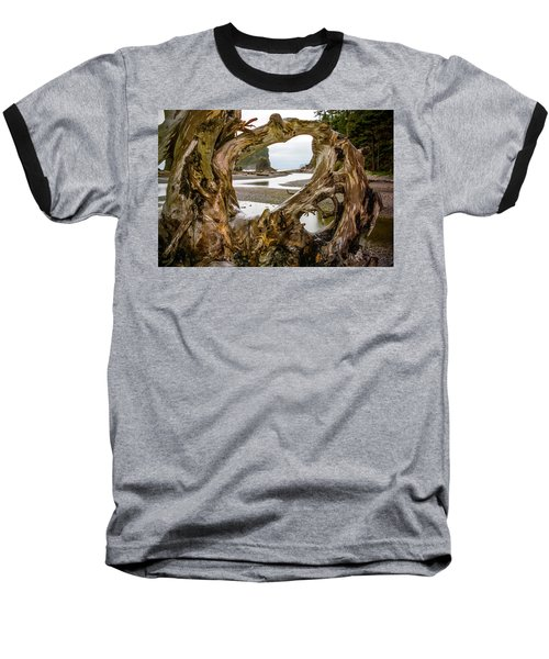 Ruby Beach Driftwood 2007 Baseball T-Shirt