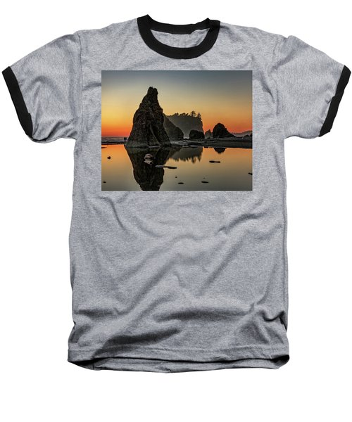 Ruby Beach At Sunset Baseball T-Shirt