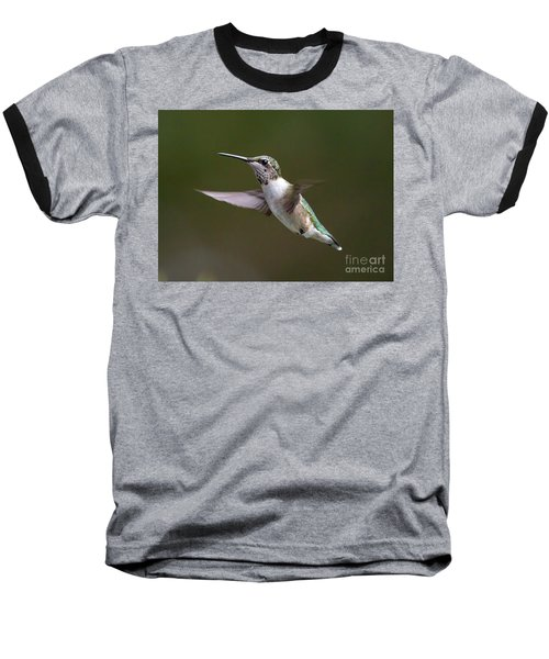 Ruby-throated Hummingbird Baseball T-Shirt