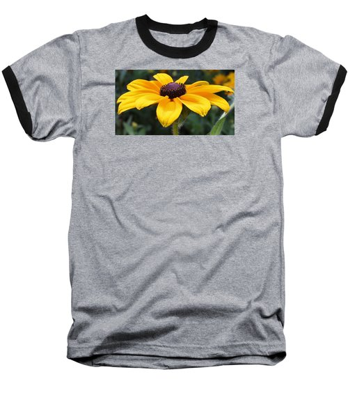 Rudbeckia Bloom Up Close Baseball T-Shirt
