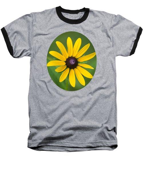 Rudbeckia Flower Baseball T-Shirt by Christina Rollo