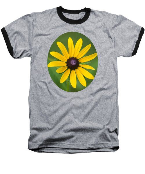 Rudbeckia Flower Baseball T-Shirt
