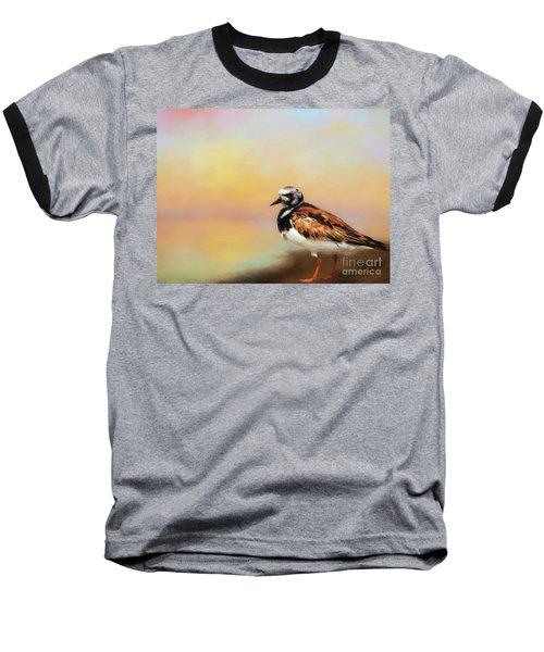 Ruddy Turnstone Baseball T-Shirt by Suzanne Handel
