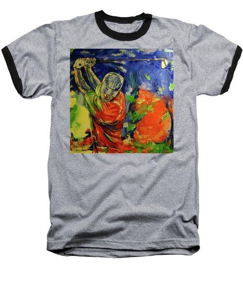 Rueckschwung   Backswing Baseball T-Shirt