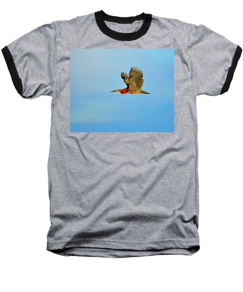 Rufescent Baseball T-Shirt by Tony Beck