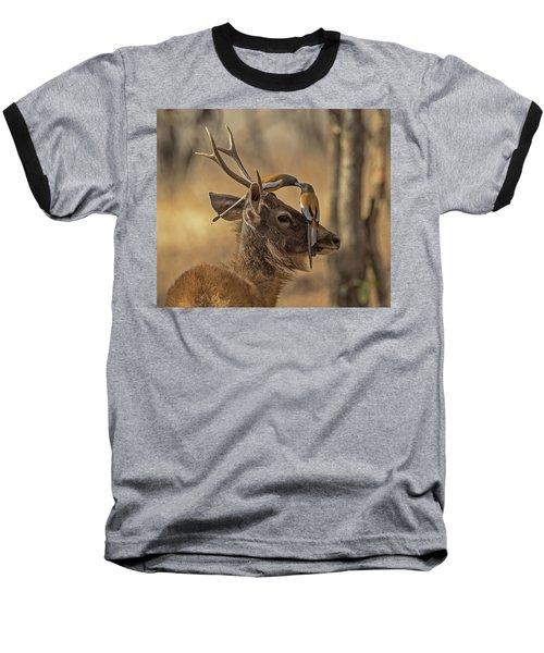 Rufous Treepies Baseball T-Shirt