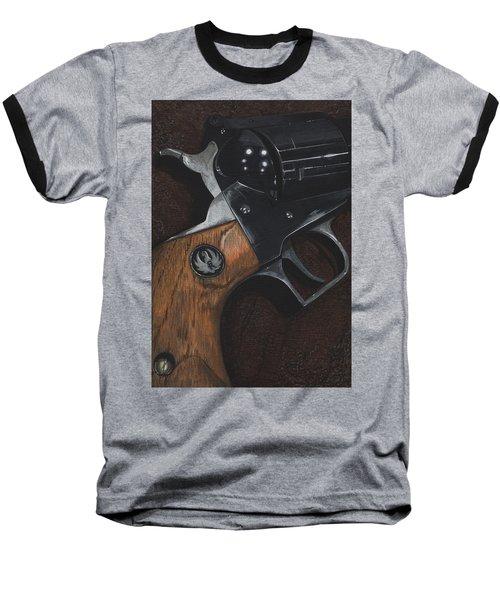 Ruger 44 Magnum Super Blackhawk Revolver Baseball T-Shirt