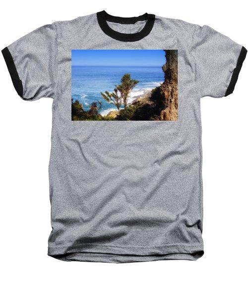 Rugged Beauty Baseball T-Shirt by Kandy Hurley
