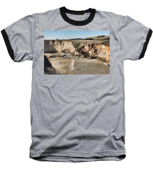 Rugged Coastline Baseball T-Shirt