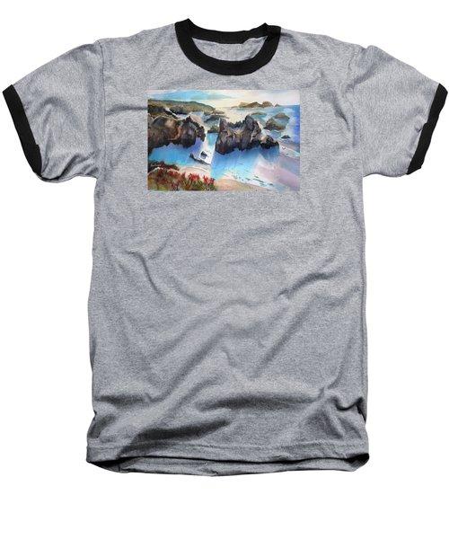 Marin Lovers Coastline Baseball T-Shirt