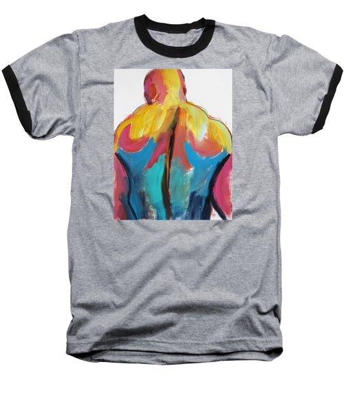 Rugger Man Broad Back Baseball T-Shirt