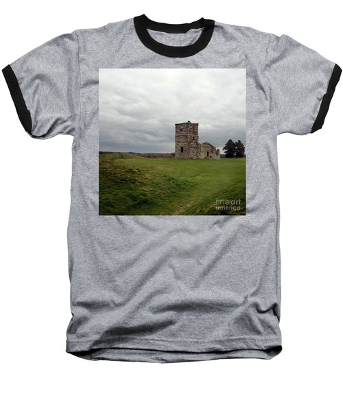 Baseball T-Shirt featuring the photograph Ruin by Sebastian Mathews Szewczyk