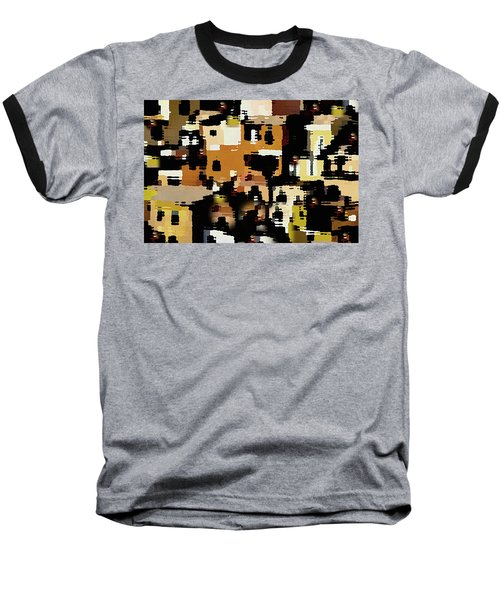Ruins, An Abstract Baseball T-Shirt