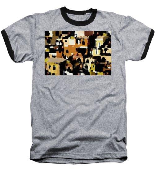 Ruins, An Abstract Baseball T-Shirt
