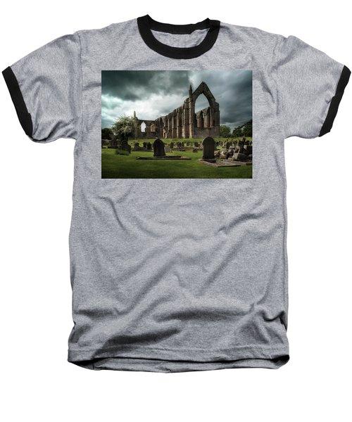 Ruins Of Bolton Abbey Baseball T-Shirt by Jaroslaw Blaminsky