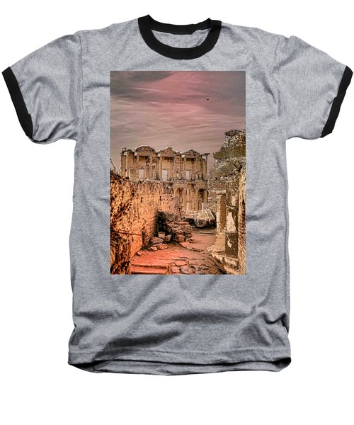 Ruins Of Ephesus Baseball T-Shirt