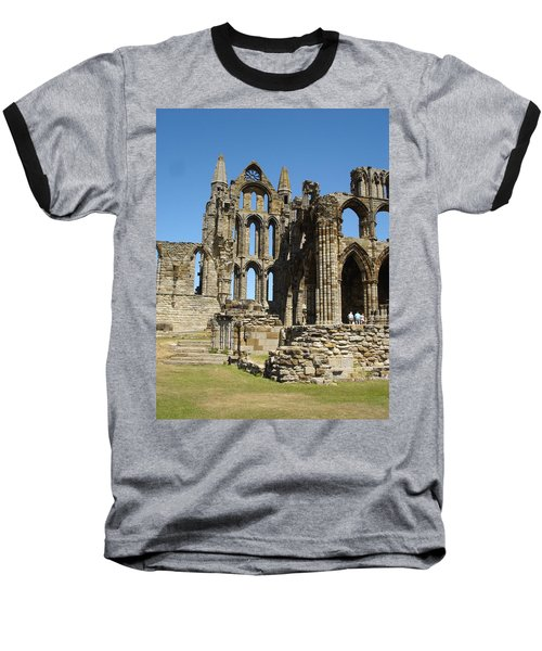 Ruins Of Whitby Abbey Baseball T-Shirt