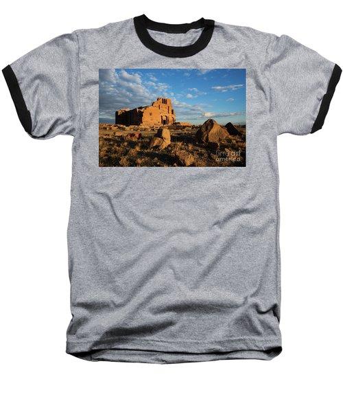 Ruins Of Yereruyk Temple Under Amazing Cloudscape, Armenia Baseball T-Shirt by Gurgen Bakhshetsyan