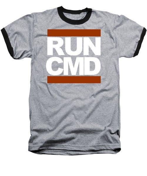 Run Cmd Baseball T-Shirt
