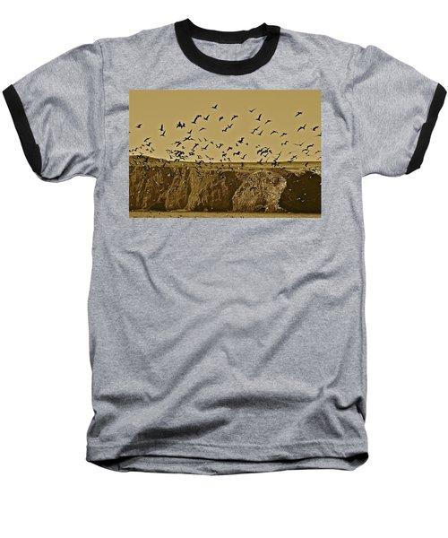 Run For Cover Baseball T-Shirt