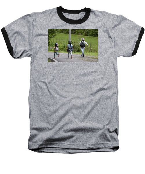 Run For It Baseball T-Shirt