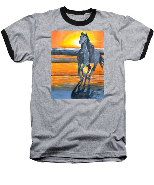Run Free Baseball T-Shirt