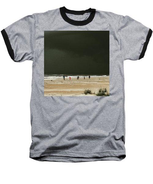 Run Baseball T-Shirt by LeeAnn Kendall