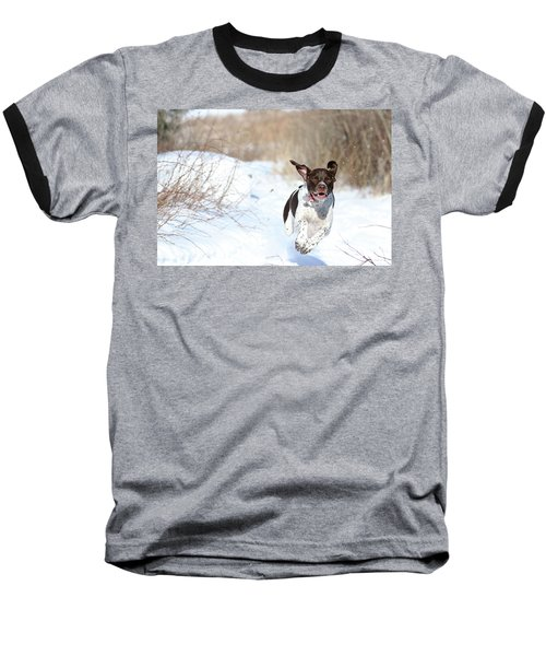 Run Millie Run Baseball T-Shirt