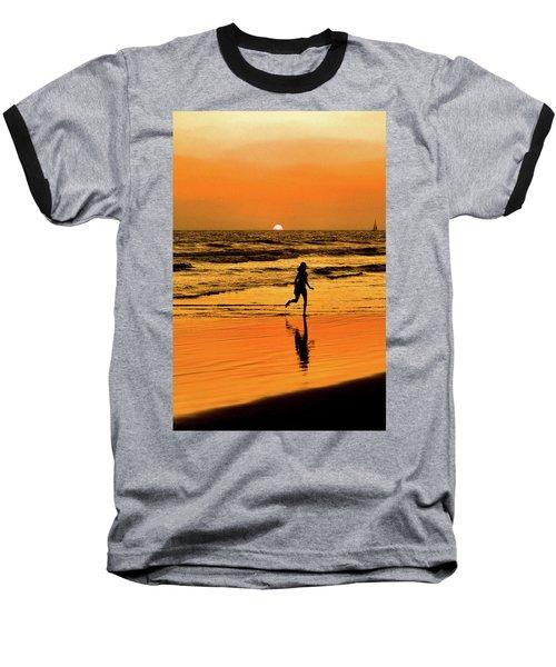 Run To The Sun Baseball T-Shirt