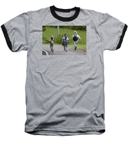 Run Together Baseball T-Shirt
