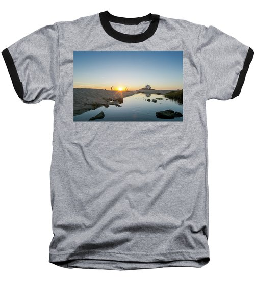 Runing  Baseball T-Shirt