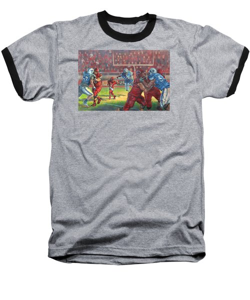 Running Courage Baseball T-Shirt