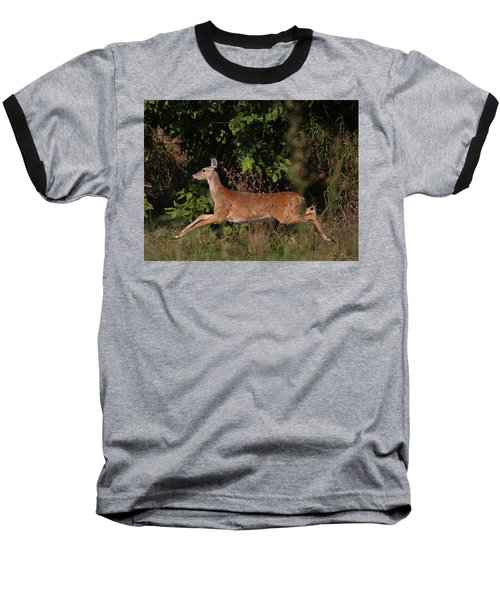 Running Deer Baseball T-Shirt