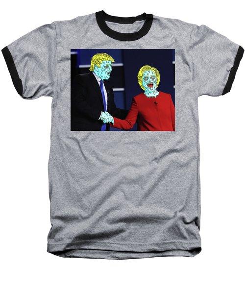 Running Down The Same Cloth. Baseball T-Shirt