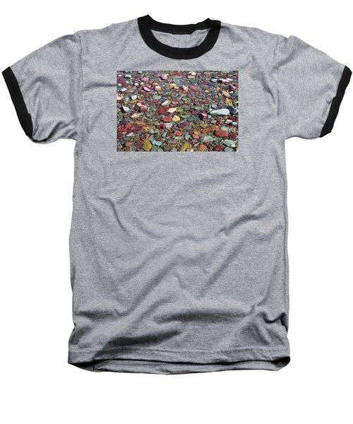 Running Eagle Falls 2 Baseball T-Shirt by Dacia Doroff
