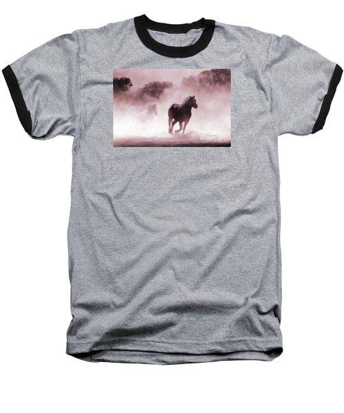 Running Horse Baseball T-Shirt