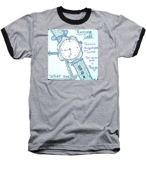 On Time Baseball T-Shirt by Carole Brecht