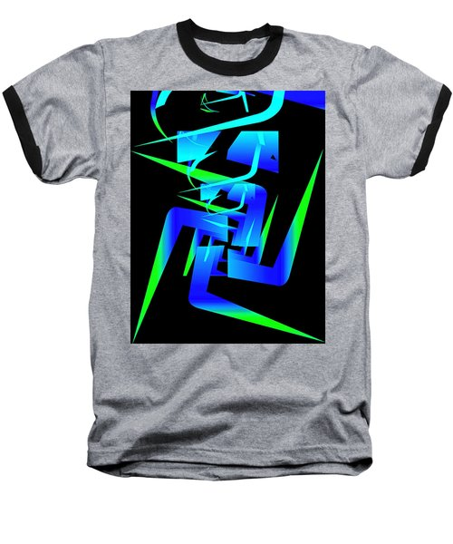 Running Man Baseball T-Shirt
