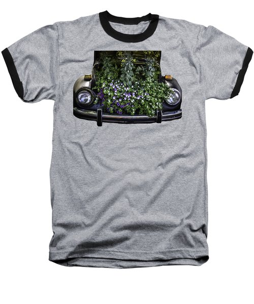 Running On Flowers Baseball T-Shirt