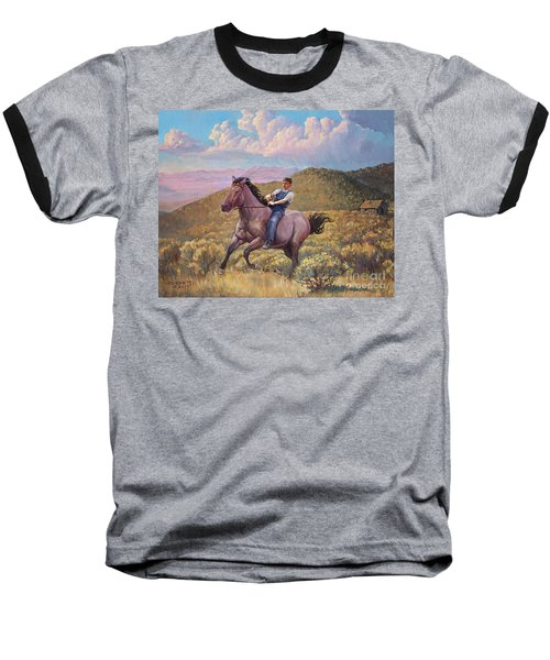 Runaway Roan Baseball T-Shirt