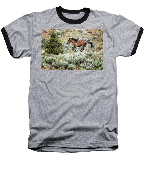 Running Through Sage Baseball T-Shirt