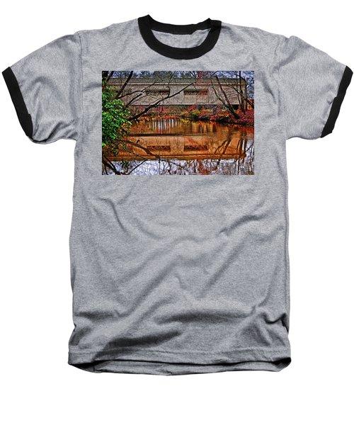 Running Waters Covered Bridge 025 Baseball T-Shirt