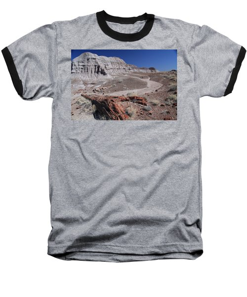 Runoff Obstacle Baseball T-Shirt
