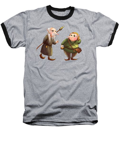 Rupert And Shuman Baseball T-Shirt
