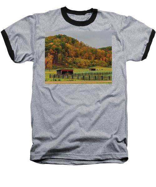 Rural Beauty In Ohio  Baseball T-Shirt
